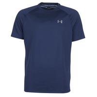 Oblečenie Muži Tričká s krátkym rukávom Under Armour TECH 2.0 SS TEE Námornícka modrá