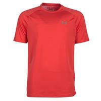 Oblečenie Muži Tričká s krátkym rukávom Under Armour TECH 2.0 SS TEE Červená