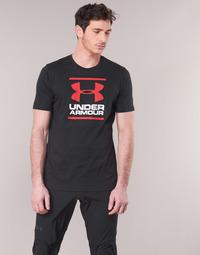 Oblečenie Muži Tričká s krátkym rukávom Under Armour GL FOUNDATION SS Čierna
