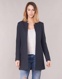 Oblečenie Ženy Kabáty Only ONLSOHO Námornícka modrá