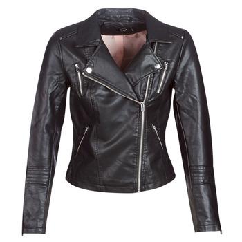 Oblečenie Ženy Kožené bundy a syntetické bundy Only ONLGEMMA Čierna