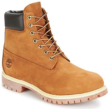 Topánky Muži Polokozačky Timberland 6 IN PREMIUM BOOT Béžová