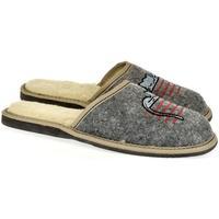 Topánky Ženy Papuče John-C Dámske sivé papuče TOMCAT sivá