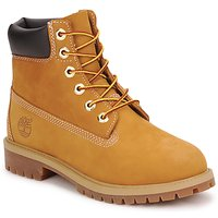 Topánky Chlapci Polokozačky Timberland 6 IN PREMIUM WP BOOT Hnedá