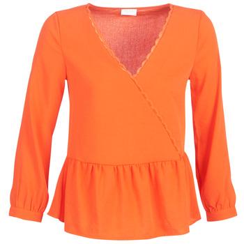 Oblečenie Ženy Blúzky Vila VIROSSIE Oranžová