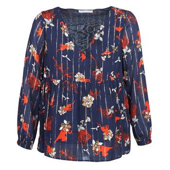 Oblečenie Ženy Blúzky Vila VIAMOLLON Námornícka modrá