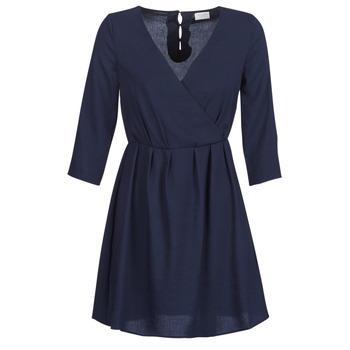 Oblečenie Ženy Krátke šaty Vila VIROSSIE Námornícka modrá