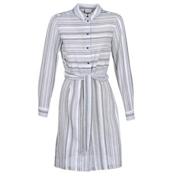 Oblečenie Ženy Krátke šaty Vila VINAVIDA Biela / Modrá