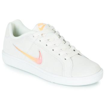 Topánky Ženy Nízke tenisky Nike COURT ROYALE PREMIUM W Biela / Oranžová