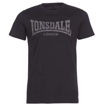 Oblečenie Muži Tričká s krátkym rukávom Lonsdale LOGO KAI Čierna