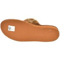 Topánky Ženy Papuče John-C Dámske hnedé papuče LESIA hnedá