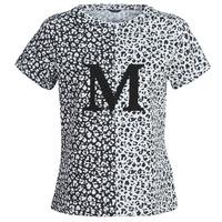 Oblečenie Ženy Tričká s krátkym rukávom Marciano RUNNING WILD Čierna / Biela
