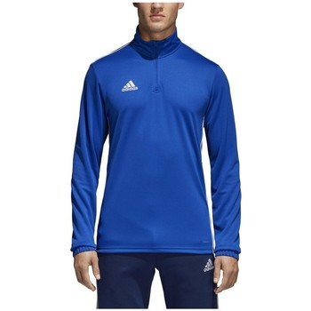 Oblečenie Muži Tričká s dlhým rukávom adidas Originals Core 18 Training Top Modrá