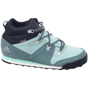 Topánky Deti Členkové tenisky adidas Originals CW Snowpitch K Zelená