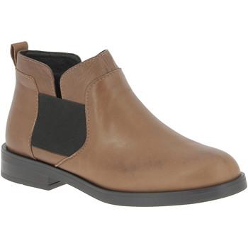 Topánky Ženy Polokozačky Nikolas 182R-TAMNA marrone