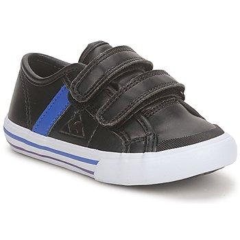 Topánky Chlapci Nízke tenisky Le Coq Sportif SAINT MALO Čierna / Modrá