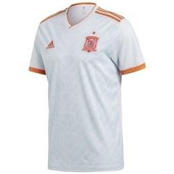 Oblečenie Muži Tričká s krátkym rukávom adidas Originals Spain Away Jersey Replica Biela