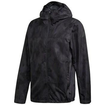 Oblečenie Muži Parky adidas Originals Wandertag Allover Print Čierna,Sivá