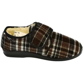 Topánky Muži Papuče Mjartan Pánske papuče  IGOR 2 hnedá