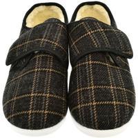 Topánky Muži Papuče Mjartan Pánske papuče  JÁN 2 čierna