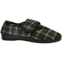 Topánky Muži Papuče Mjartan Pánske papuče  IGOR tmavosivá