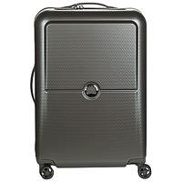 Tašky Pevné cestovné kufre Delsey TURENNE 4DR 65CM Šedá