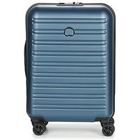 Tašky Pevné cestovné kufre Delsey SEGUR 2.0 CAB SL 4DR 55CM Modrá