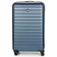 Tašky Pevné cestovné kufre Delsey SEGUR 4DR 78CM Modrá