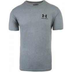 Oblečenie Muži Tričká s krátkym rukávom Under Armour Sportstyle Left Chest Sivá