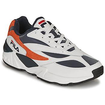 Topánky Muži Nízke tenisky Fila V94M R LOW Biela / Oranžová
