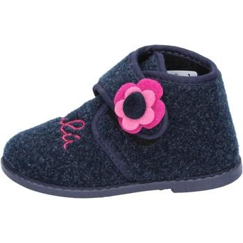 Topánky Dievčatá Papuče Lulu BS29 Modrá