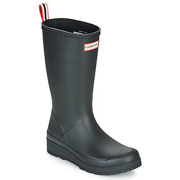 Topánky Ženy Čižmy do dažďa Hunter ORIGINAL PLAY BOOT TALL Čierna