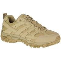 Topánky Muži Turistická obuv Merrell Moab 2 Tactical Béžová