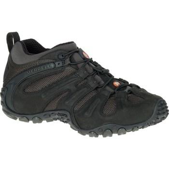 Topánky Muži Turistická obuv Merrell Chameleon II Stretch Čierna, Grafit