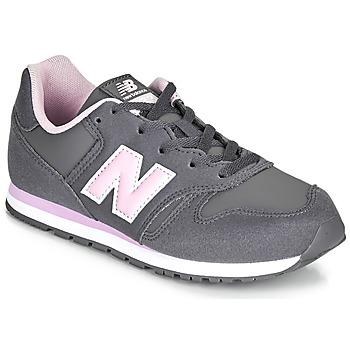 Topánky Dievčatá Nízke tenisky New Balance 373 Šedá / Ružová