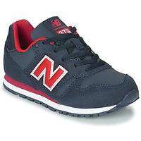 Topánky Deti Nízke tenisky New Balance 373 Modrá / Červená