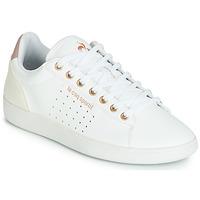 Topánky Ženy Nízke tenisky Le Coq Sportif COURTSTAR W BOUTIQUE Biela / Ružová