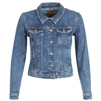 Oblečenie Ženy Džínsové bundy Only ONLTIA Modrá / Medium