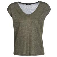 Oblečenie Ženy Tričká s krátkym rukávom Only ONLSILVERY Kaki