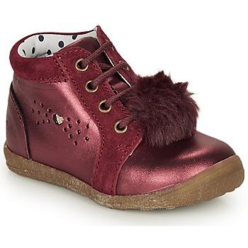 Topánky Dievčatá Polokozačky Catimini CALISTA Bordová