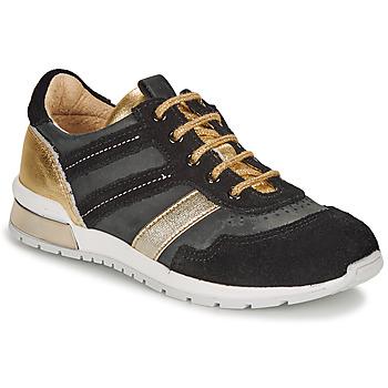 Topánky Dievčatá Nízke tenisky Catimini CAMELINE Čierna / Zlatá