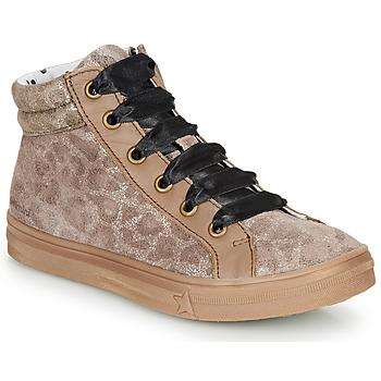 Topánky Dievčatá Členkové tenisky Catimini CALENDULE Leopard