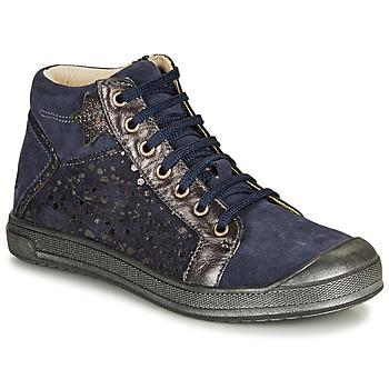 Topánky Dievčatá Členkové tenisky GBB ORENGETTE Modrá