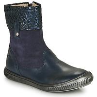 Topánky Dievčatá Polokozačky GBB ORANTO Modrá