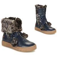 Topánky Dievčatá Polokozačky GBB NOUSTIK Modrá