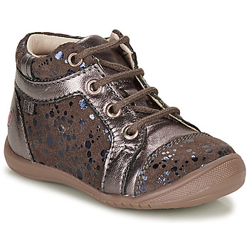 Topánky Dievčatá Polokozačky GBB OMANE Béžová