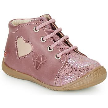 Topánky Dievčatá Členkové tenisky GBB OCALA Old / Ružová