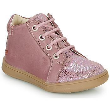 Topánky Dievčatá Členkové tenisky GBB FAMIA Old / Ružová