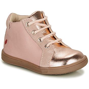 Topánky Dievčatá Členkové tenisky GBB FAMIA Ružová