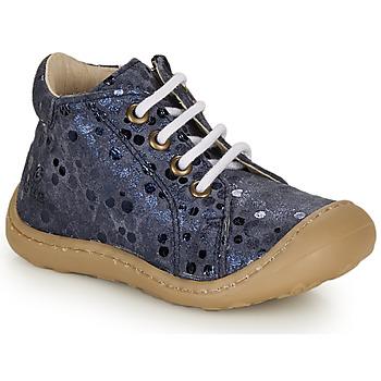 Topánky Dievčatá Členkové tenisky GBB VEDOFA Modrá